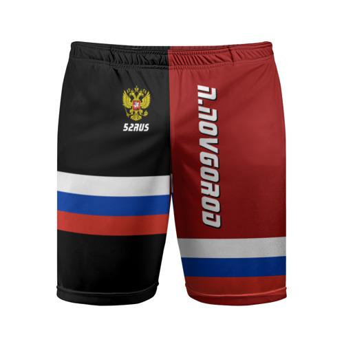 Мужские шорты 3D спортивные N.NOVGOROD (Нижний Новгород)