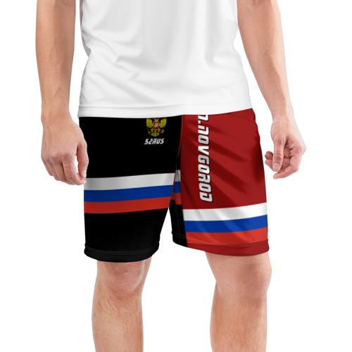 Мужские шорты 3D спортивные  Фото 03, N.NOVGOROD (Нижний Новгород)