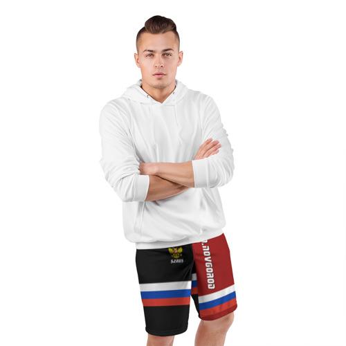Мужские шорты 3D спортивные  Фото 05, N.NOVGOROD (Нижний Новгород)