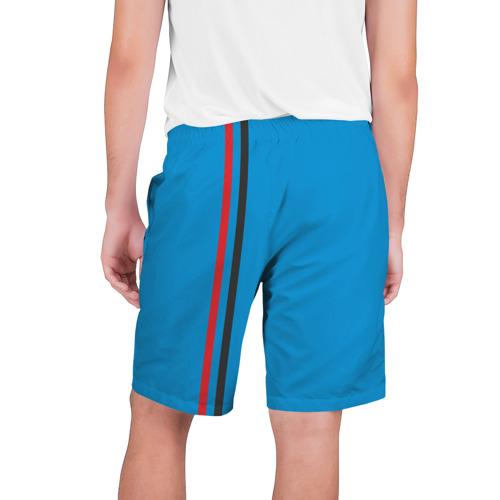 Мужские шорты 3D ДНР, лента с гербом Фото 01
