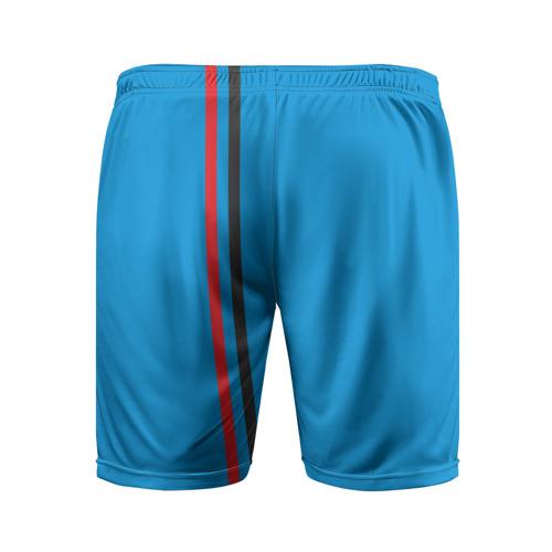 Мужские шорты 3D спортивные  Фото 02, ДНР, лента с гербом