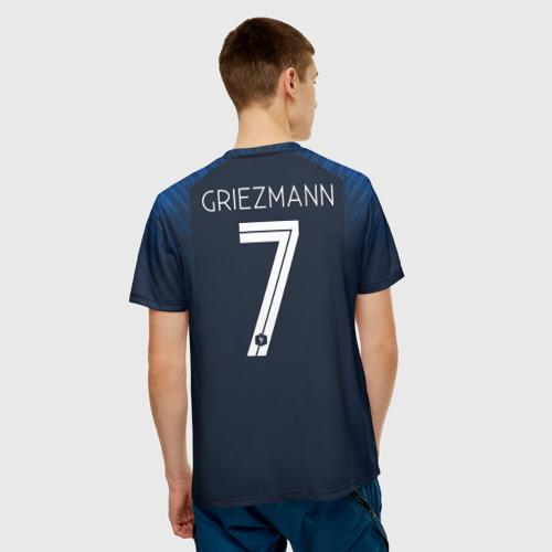 Мужская футболка 3D Griezmann home 18-19 WC Фото 01