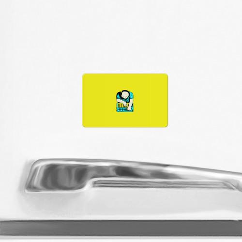 Магнит виниловый Visa  Фото 02, Битмейкер