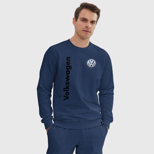 Мужской костюм хлопок Volkswagen Фото 01