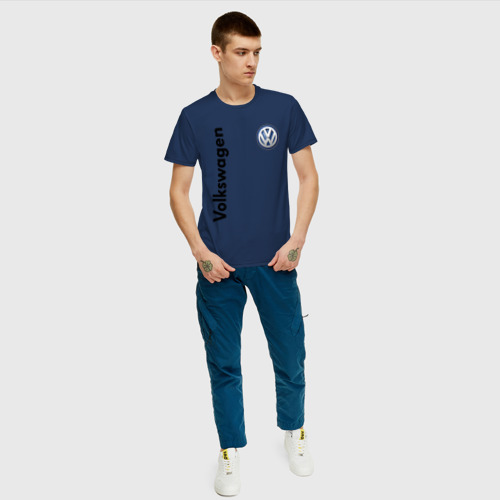 Мужская футболка хлопок Volkswagen Фото 01