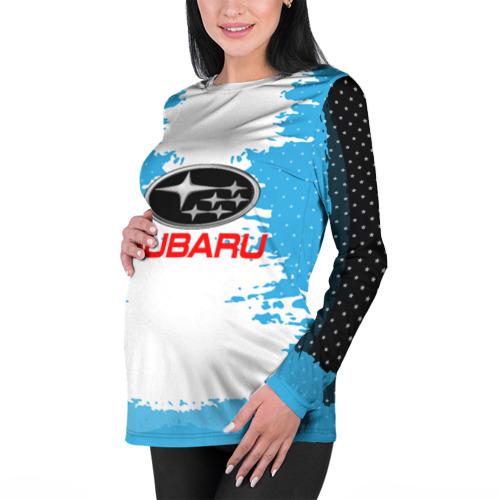 Женский лонгслив 3D для беременных  Фото 01, Subaru