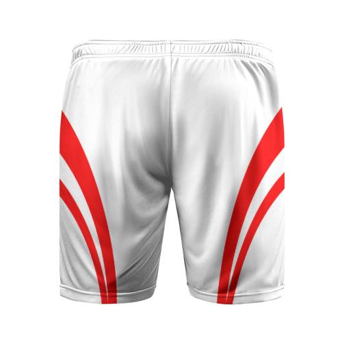 Мужские шорты 3D спортивные  Фото 02, Рокетс домашняя форма