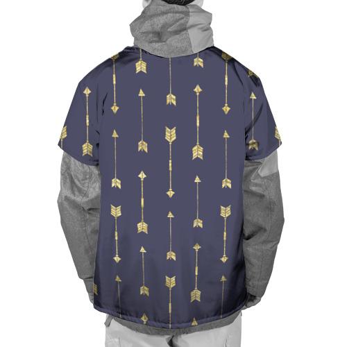 Накидка на куртку 3D  Фото 02, Золотые стрелы