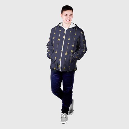 Мужская куртка 3D  Фото 03, Золотые стрелы
