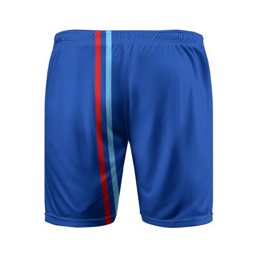 Мужские шорты 3D спортивные  Фото 02, ЛНР, лента с гербом