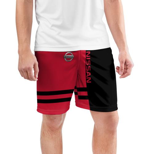 Мужские шорты 3D спортивные  Фото 03, Nissan