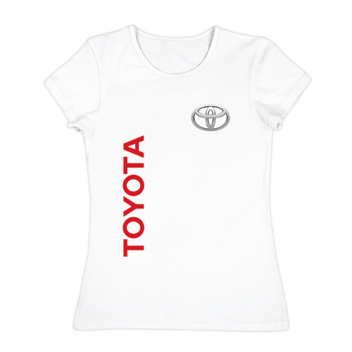 Женская футболка хлопок Toyota