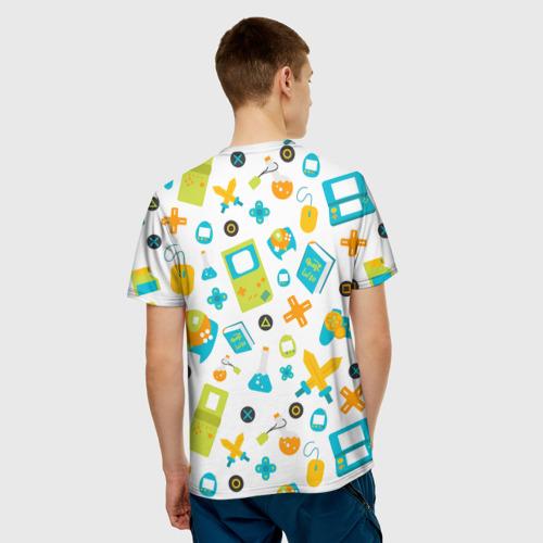 Мужская футболка 3D  Фото 02, Old game