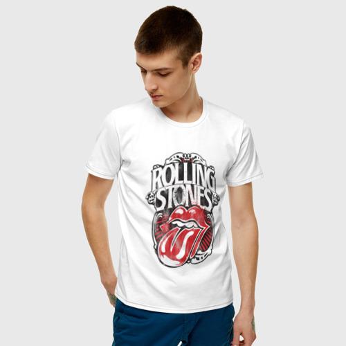 Мужская футболка хлопок The Rolling Stones Фото 01