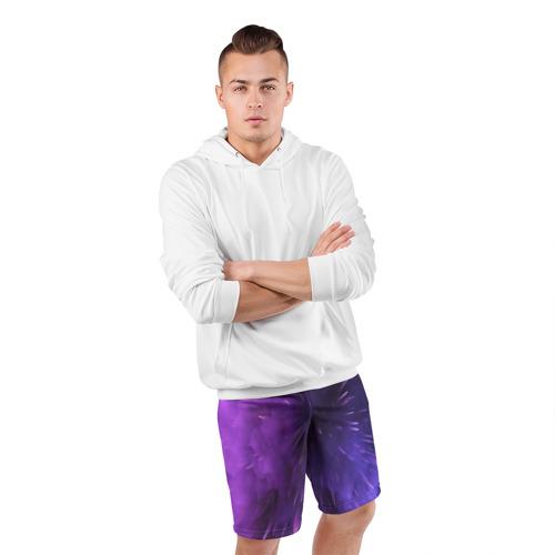 Мужские шорты 3D спортивные  Фото 05, cosmo texture