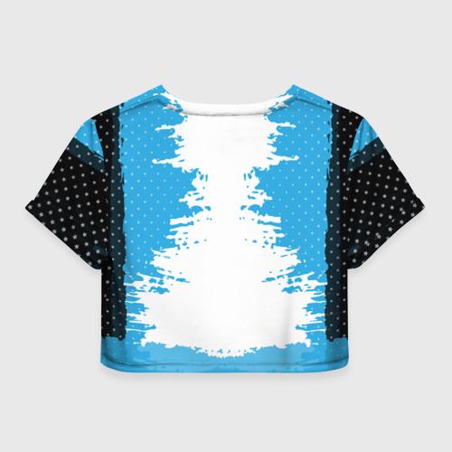 Женская футболка 3D укороченная  Фото 02, Nissan