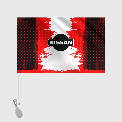 Флаг для автомобиля Nissan Фото 01