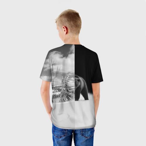 Детская футболка 3D  Фото 02, Siberia earth of freedom