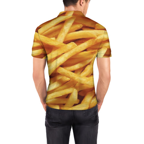 Мужская рубашка поло 3D  Фото 04, Картошка фри