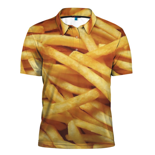 Мужская рубашка поло 3D  Фото 01, Картошка фри