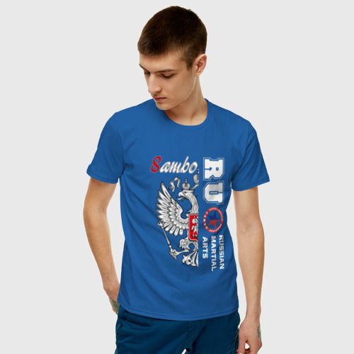 Мужская футболка хлопок Самбо (двухсторонняя) Фото 01