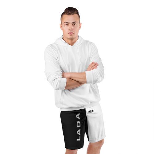 Мужские шорты 3D спортивные  Фото 05, LADA