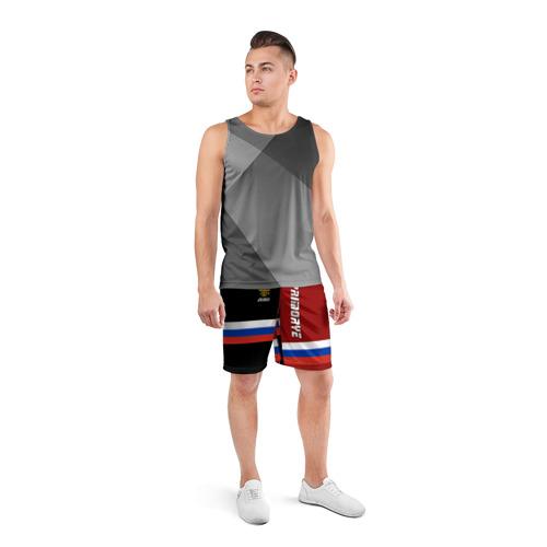 Мужские шорты 3D спортивные  Фото 04, PRIMORYE (Приморье)