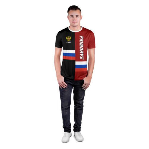 Мужская футболка 3D спортивная  Фото 04, PRIMORYE (Приморье)