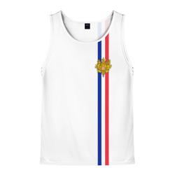 Франция, лента с гербом