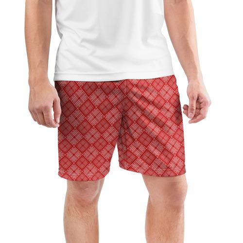Мужские шорты 3D спортивные  Фото 03, Geometric AbsTex