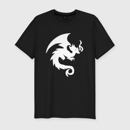 Мужская футболка премиум  Фото 01, Dragon Fortnite