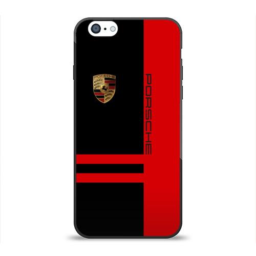 Чехол для Apple iPhone 6 силиконовый глянцевый  Фото 01, Porsche