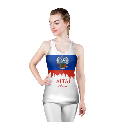 Женская майка 3D спортивная  Фото 03, ALTAI Russia