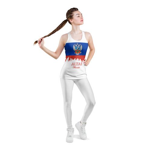 Женская майка 3D спортивная  Фото 05, ALTAI Russia