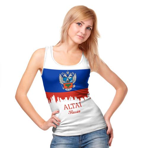 Женская майка 3D  Фото 05, ALTAI Russia