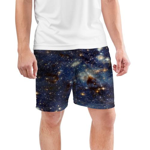 Мужские шорты 3D спортивные  Фото 03, Космос