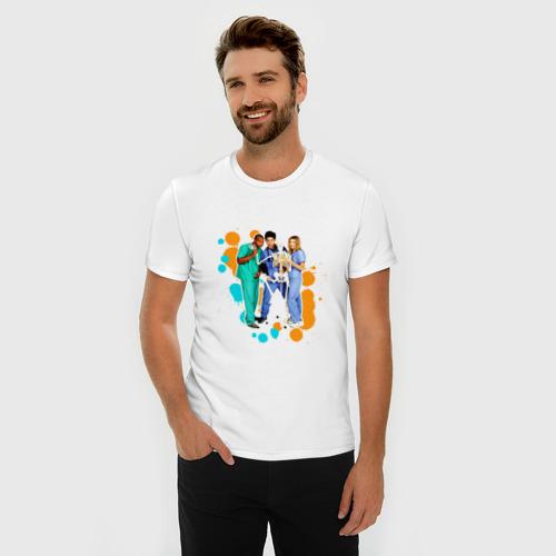 Мужская футболка премиум  Фото 03, Сериал клиника