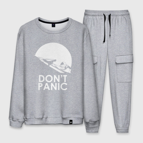 Мужской костюм хлопок Don't Panic Фото 01