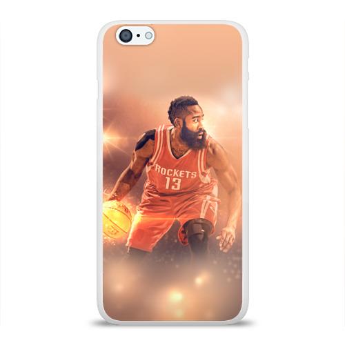 Чехол для Apple iPhone 6Plus/6SPlus силиконовый глянцевый  Фото 01, NBA Stars