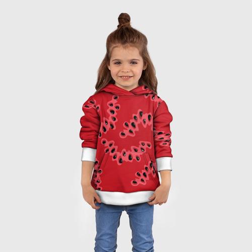 Детская толстовка 3D  Фото 01, Watermelon pattern