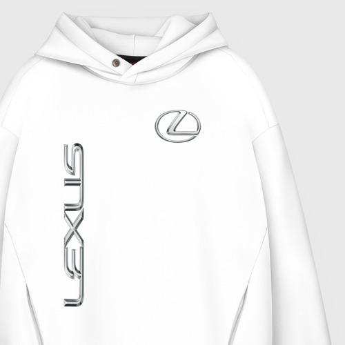 Мужское худи Oversize хлопок Lexus Фото 01