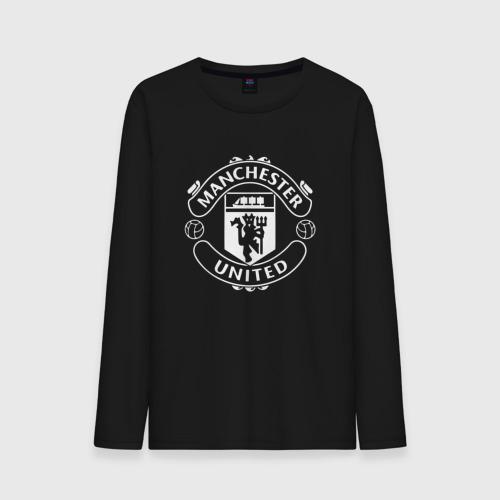 Мужской лонгслив хлопок Manchester United