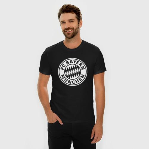 Мужская футболка премиум FC Bayern Munchen #2 Фото 01