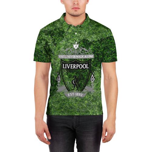 Мужская рубашка поло 3D  Фото 03, Championship Liverpool