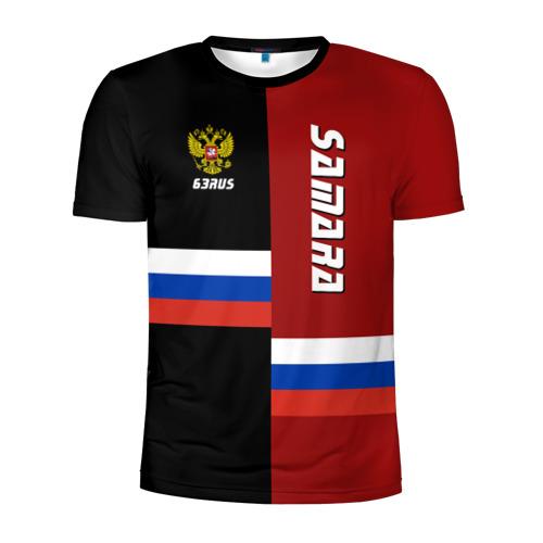 Мужская футболка 3D спортивная SAMARA (Самара)
