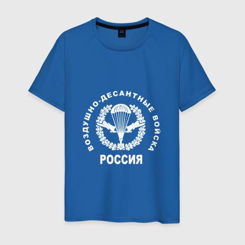 Мужская футболка хлопок  Фото 01, Шеврон ВДВ (двусторонний)