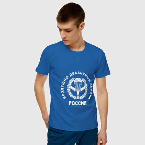 Мужская футболка хлопок  Фото 03, Шеврон ВДВ (двусторонний)