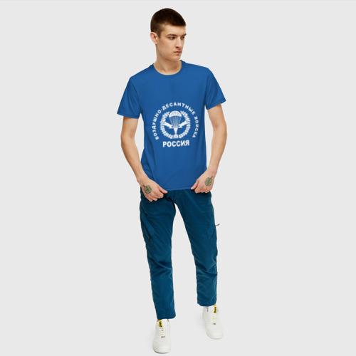 Мужская футболка хлопок  Фото 05, Шеврон ВДВ (двусторонний)