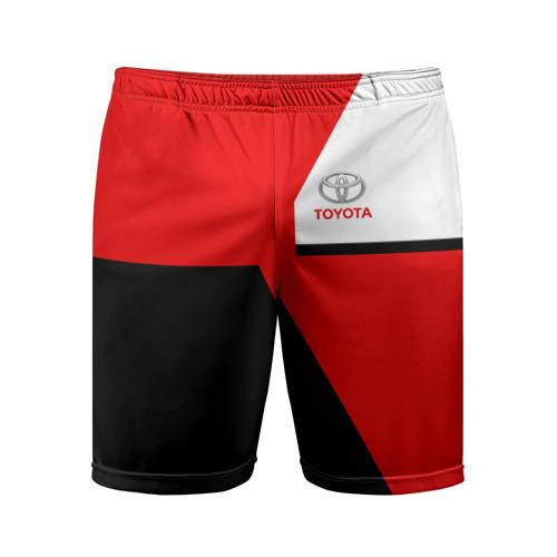 Мужские шорты 3D спортивные  Фото 01, TOYOTA SPORT