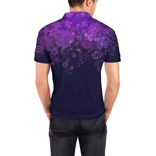Мужская рубашка поло 3D  Фото 04, Люблю охрану труда